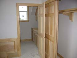 Custom carpentry, trimwork and doors